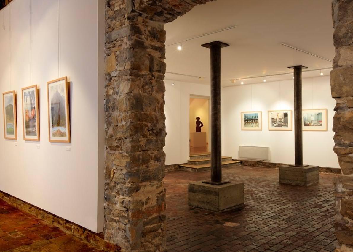 intérieur du Centre d'Art Sébastien