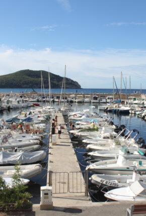 vieux_port_des_lecques_bateaux_ciel_bleu_page_les_ports_bateaux_decores_vue_pointe
