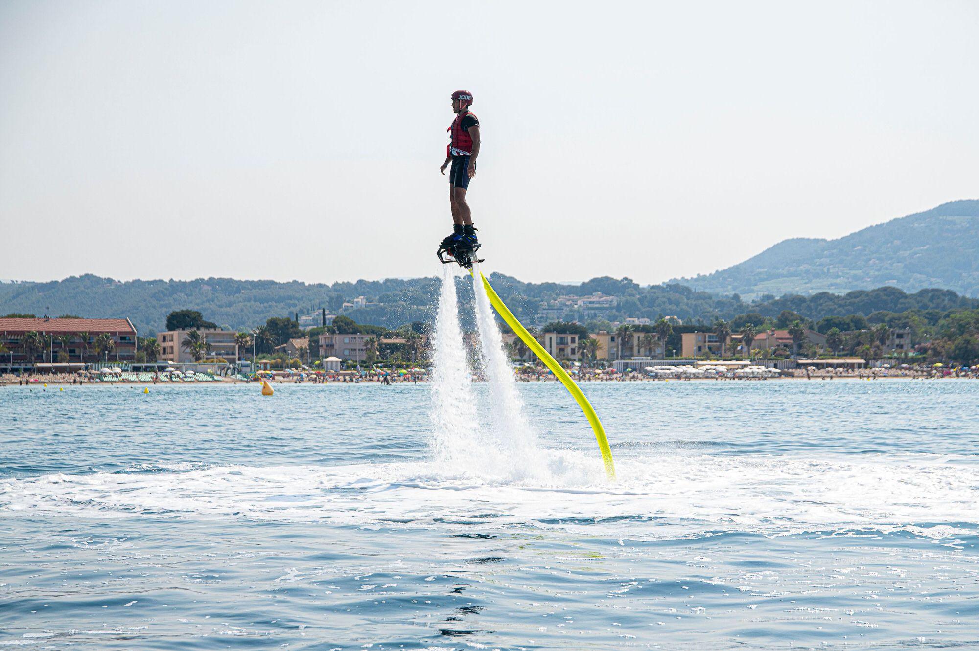 Fill up on Flyboard or jet ski sensations?