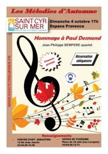 Affiche concert Mélodies d'