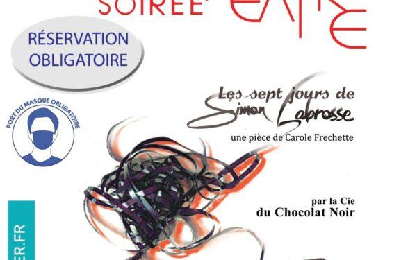 """Théâtre """"Les sept jours de Simon Labrosse"""""""