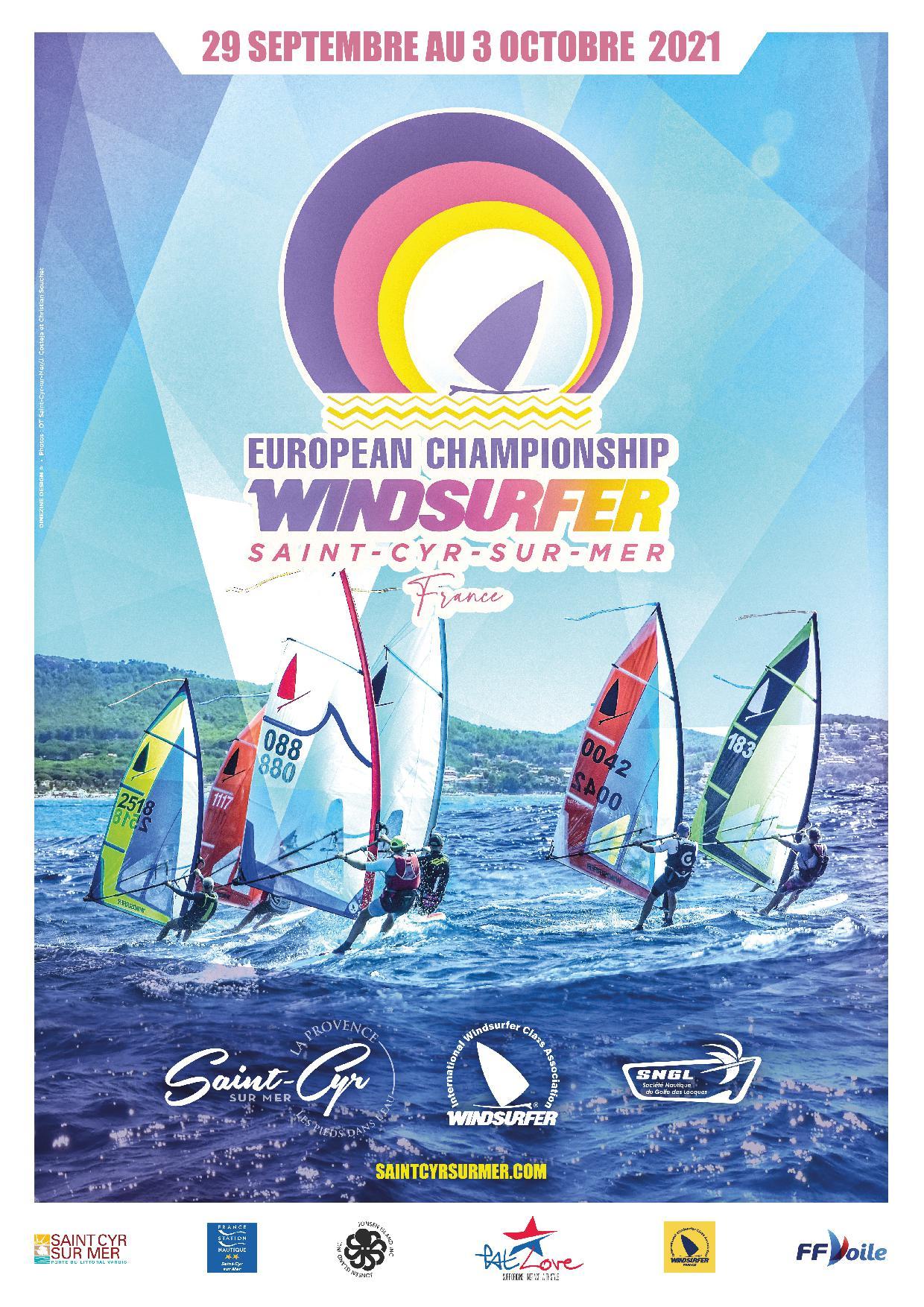 The European Championship Windsurfer