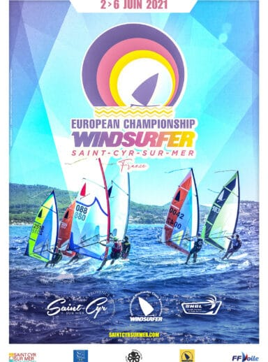 The European Championship Windsurfer