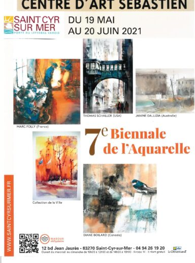 The 7th Watercolor Biennial at the Center d'Art Sébastien