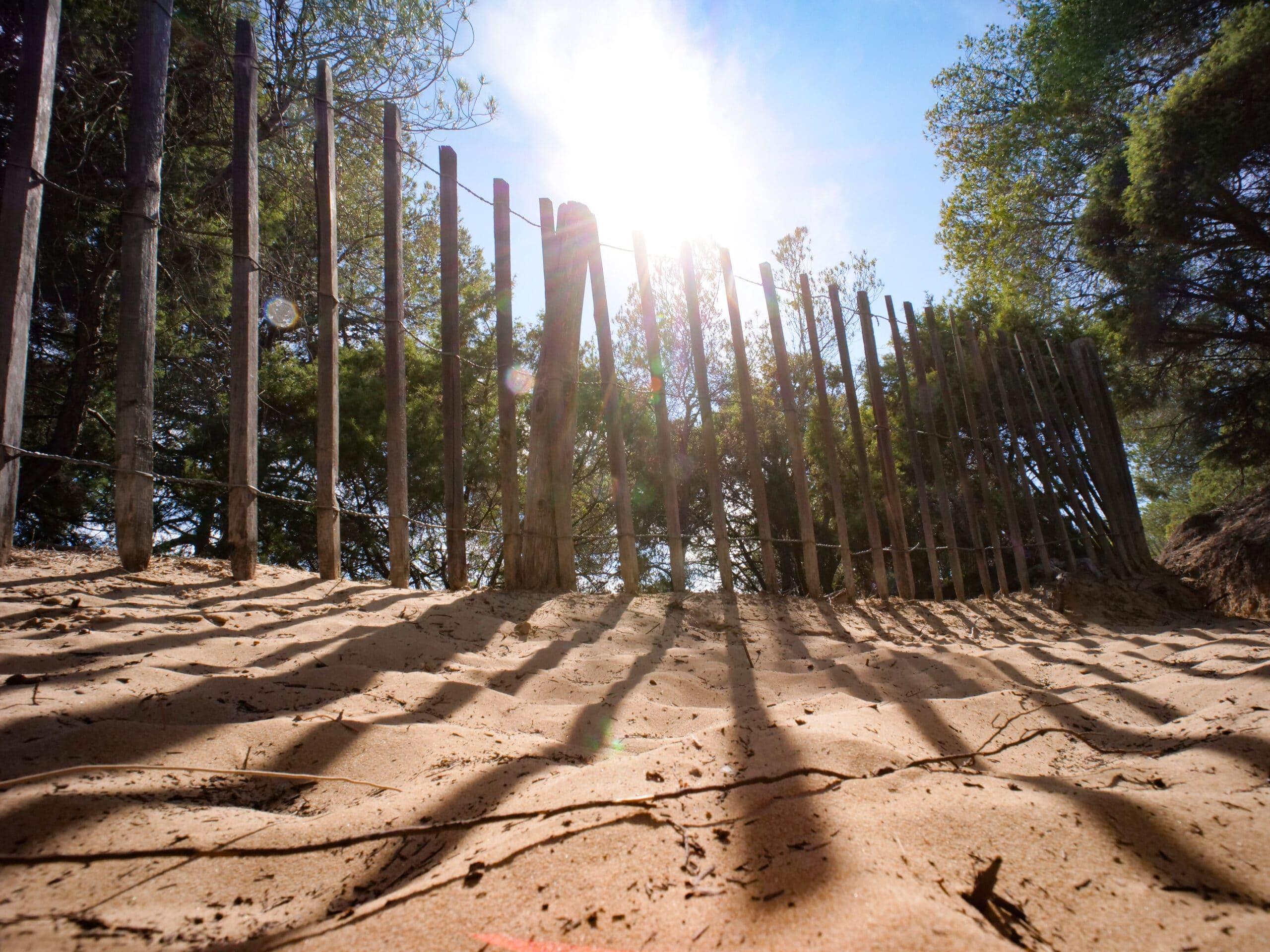 Colline de sable